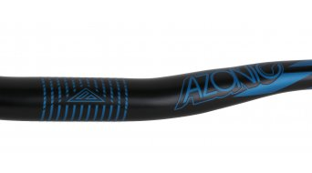 Azonic World Force 318 manillar 31.8x750mm 18mm-Rise negro/azul Mod. 2016