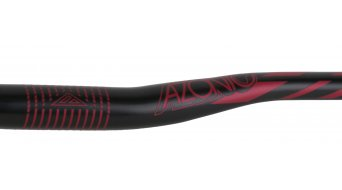 Azonic World Force 318 manillar 31.8x750mm 18mm-Rise negro/rojo Mod. 2016