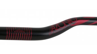 Azonic World Force 318 manillar 31.8x750mm 36mm-Rise negro/rojo Mod. 2016