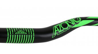 Azonic World Force FAT 35 manillar 35.0x750mm 36mm-Rise negro/color neón verde Mod. 2016
