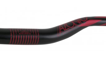 Azonic World Force FAT 35 manillar 35.0x750mm 36mm-Rise negro/rojo Mod. 2016