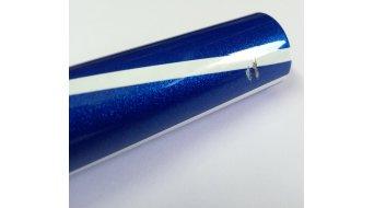 Azonic Agile manubrio 31.8x780mm 1-Rise paint metal/flake blue mod. 2016- modello espositivo Lackabplatzer &-abschürfungen