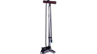 Azonic Hal Digital argento-E bici pumpe aria pumpe pompa a piedistallo silver mod. 2016