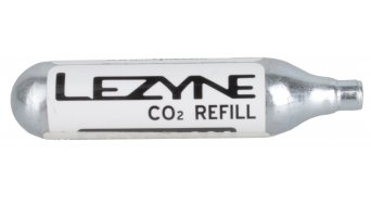 Lezyne 12 gr. CO2 cartucho color plata (ningún(-o,-a) rosca)