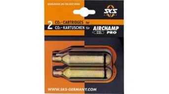 SKS Airchamp par CO2 cartouche sans filetage, 16gr CO2