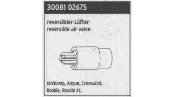 SKS pièce de rechange Lüfter reversible pour Airchamp, Airgun, Crosswind, Rookie (XL)