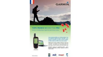 Garmin TOPO France v3 Overseas (DVD+microSD/SD-carte)