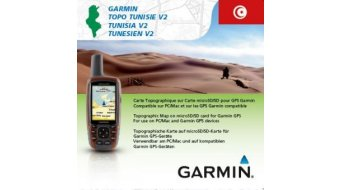 Garmin TOPO Tunesien v2 (microSD/SD-térkép)