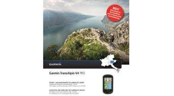 Garmin Trans Alpin V4 PRO Vektorcarte 2014 (DVD+microSD/SD-carte)