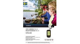 Garmin TOPO Suède V4 PRO Götaland (DVD+microSD/SD-carte)