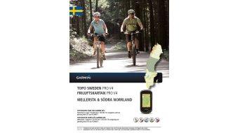 Garmin TOPO Svezia V4 PRO Mellersta & Södra Norrland (DVD+microSD/SD- cartina )