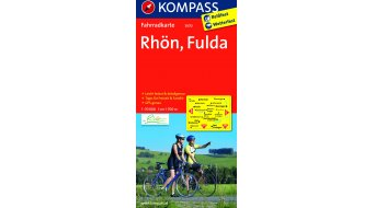 Kompass Radwanderkarte Alemania Rhön/Fulda- 1:70.000