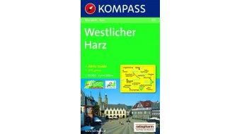Kompass Wander cartina Westlicher Harz (incl. Aktiv-Guide)- 1:50.000