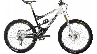 Bergamont Enduro 9.0 bike size L shiny black/white 2010