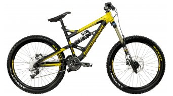 Bergamont Big Air 9.2 bike matt black/yellow 2012