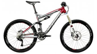 Bergamont Threesome 9.2 bike matt grey/red 2012