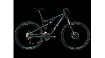"Bergamont Threesome SL 7.3 27.5"" bike black-cyan/white matt 2013- CLASSICLINE"