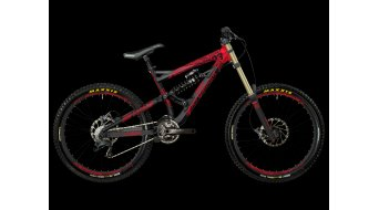Bergamont Straitline 8.3 bike size S black-bright red shiny 2013