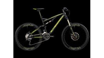 Bergamont Threesome 6.3 bike black-lime/green matt 2013- CLASSICLINE