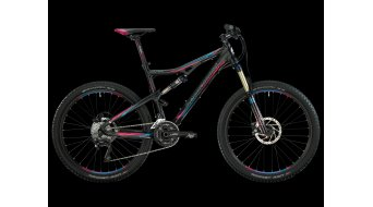 Bergamont Contrail 6.3 FMN bike black-cyan/purple matt 2013