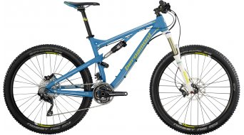 "Bergamont Threesome SL 7.4 27.5"" bike cyan/lime/white (matt) 2014"
