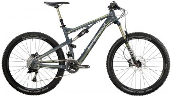 "Bergamont Threesome SL 8.4 27.5"" bike grey/neon yellow/white (matt) 2014"