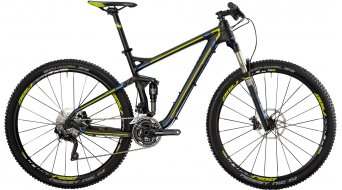 "Bergamont Contrail LTD 29"" bike black/cyan/lime (matt) 2014"