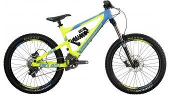 """Bergamont Big Air 6.4 26"""" bike cyan/neon yellow (matt) 2014"""
