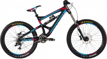 Bergamont Straitline 7.0 26/27.5 MTB bike mens version black/magenta/blue matt 2015