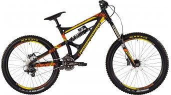 Bergamont Straitline 8.0 26/27.5 MTB bike mens version black/orange/yellow matt 2015