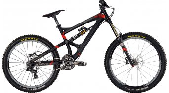 Bergamont Straitline MGN 26/27.5 MTB bike mens version black matt/black/red shiny 2015