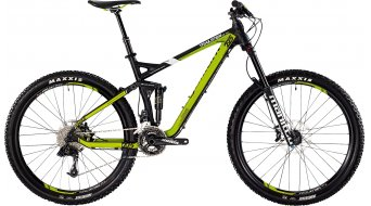 Bergamont Trailster EX 7.0 27.5 MTB bike mens version black/green/white matt 2015