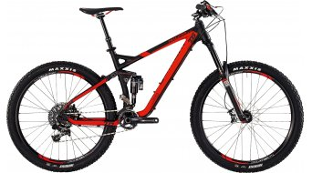 Bergamont Trailster EX 9.0 27.5 MTB bike mens version black/red matt 2015