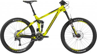 Bergamont EnCore 8.0 27.5 MTB bike mens version acid yellow/black 2016