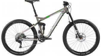 """Bergamont Trailster 8.0 27.5"""" VTT vélo hommes-roue taille lava grey/mineral grey/lime Mod. 2016"""
