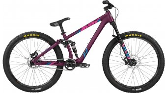 Bergamont Kiez Slope 26 MTB bici completa Caballeros-rueda grape/turquoise/pink Mod. 2016