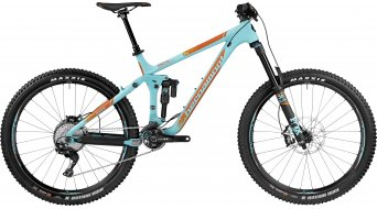 Bergamont EnCore 9.0 650B/27.5 MTB bike coral blue/orange (matt) 2017