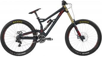 Bergamont Straitline MGN 650B/27.5 MTB bici completa . black/grey/red (opaco) mod. 2017