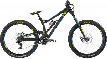 Bergamont Straitline Team 650B/27.5 MTB bici completa negro/color neón amarillo/cyan (color apagado) Mod. 2017