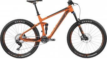 Bergamont Trailster 8.0 650B/27.5 MTB bike orange/black (matt) 2017