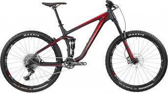 Bergamont Trailster MGN carbon 650B/27.5 MTB bike black/red (matt) 2017