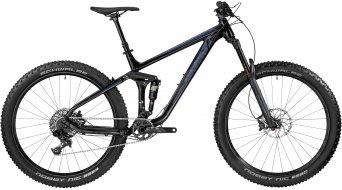 Bergamont Trailster 7.0 Plus 650B+/27.5+ MTB bike black/blue (shiny) 2017