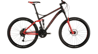Ghost Kato FS 2 650B/27,5 MTB bike black/red/grey 2015