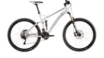 Ghost Kato FS 5 650B/27,5 MTB bike white/black 2015