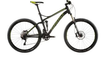 Ghost Kato FS 7 650B/27,5 MTB bike black/limegreen/white 2015