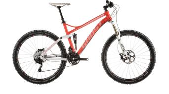 Ghost Kato FS 8 650B/27,5 MTB bike red/white 2015