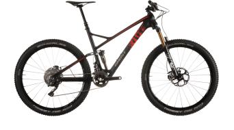 Ghost Riot 9 LC 650B/27,5 MTB bike black/red/grey 2015