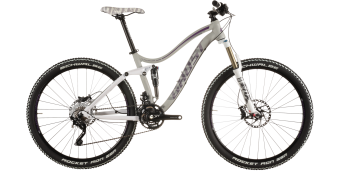 Ghost Lanao FS 7 650B/27,5 MTB bike ladies version grey/white/purple/darkgrey 2015