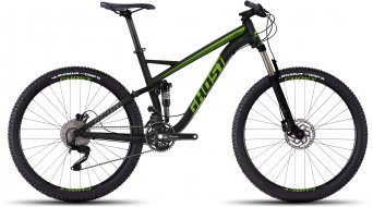 Ghost Kato FS 3 650B/27,5 MTB bike black/green 2016