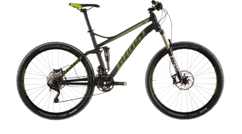 Ghost Kato FS 7 650B/27,5 MTB bike black/limegreen/white 2016